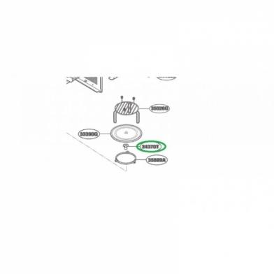 Куплер вращения тарелки микроволновой печи LG (4370W1A006D)