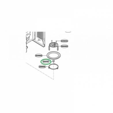 Куплер вращения тарелки микроволновой печи LG (4370W3A001A)