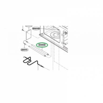 Тэн гриля микроволновой печи LG (5300W1A002A)