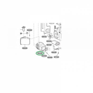 Магнетрон микроволновой печи LG (6324W1A001H)