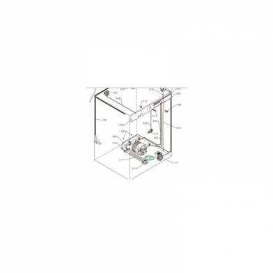Двигатель от стиральной машины Vestel (32017575)