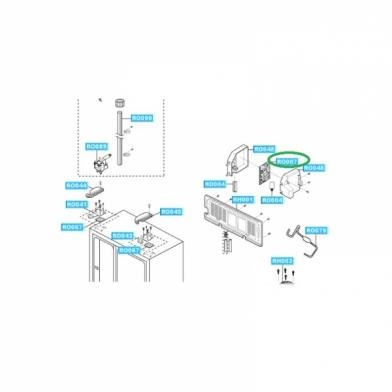 Модуль управления для холодильника Samsung (DA41-00185U)