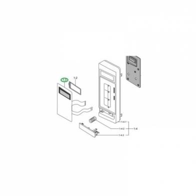 Сенсорная панель для микроволновой печи Samsung (DE34-00382U)