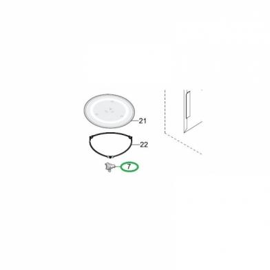Куплер вращения микроволновой печи SAMSUNG (DE67-00258A)