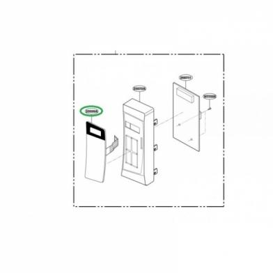 Сенсорная панель управления микроволновой печи LG (MFM62757002)
