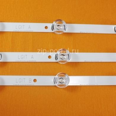 Набор светодиодных линеек подсветки LG (AGF78399801)