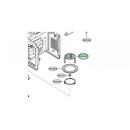 Решетка гриля микроволновой печи Bosch (00662158)