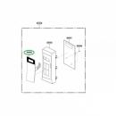 Сенсорная панель управления микроволновой печи LG (3506W1A593L)