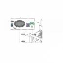 Куплер вращения тарелки микроволновой печи LG (4370W1A004C)