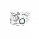 Люк стиральной машины Indesit (C00294779)