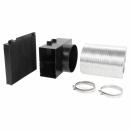 Комплект для работы вытяжки Bosch в режиме циркуляции воздуха 11003853