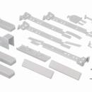 Cкользящие направляющие для холодильника Bosch 00491367