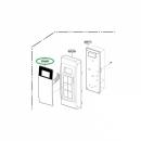 Модуль управления микроволновой печи LG (MFM61846502)